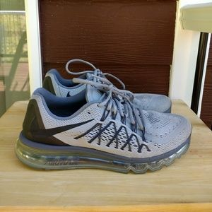 Nike Air Max 2015 Wolf Athletic Running Shoe